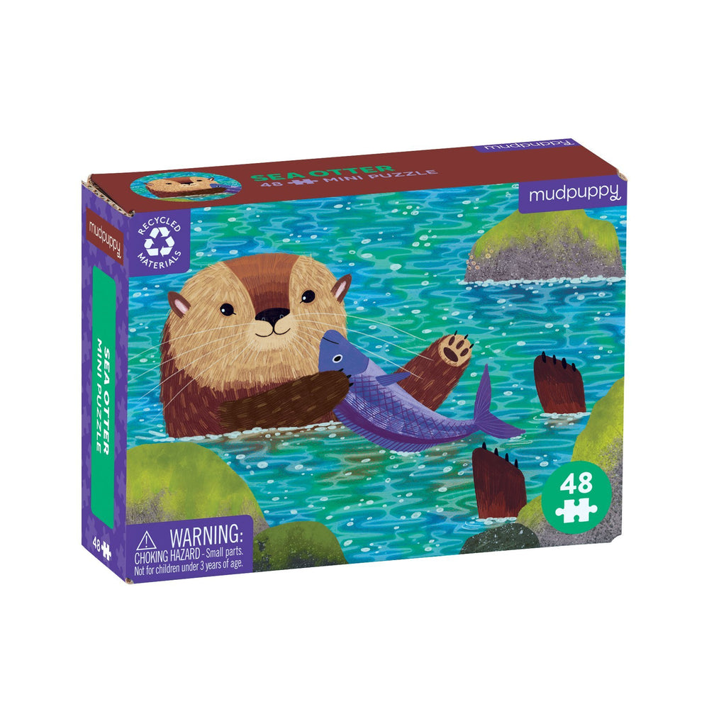 Sea Otter - 48pc Mini Puzzle
