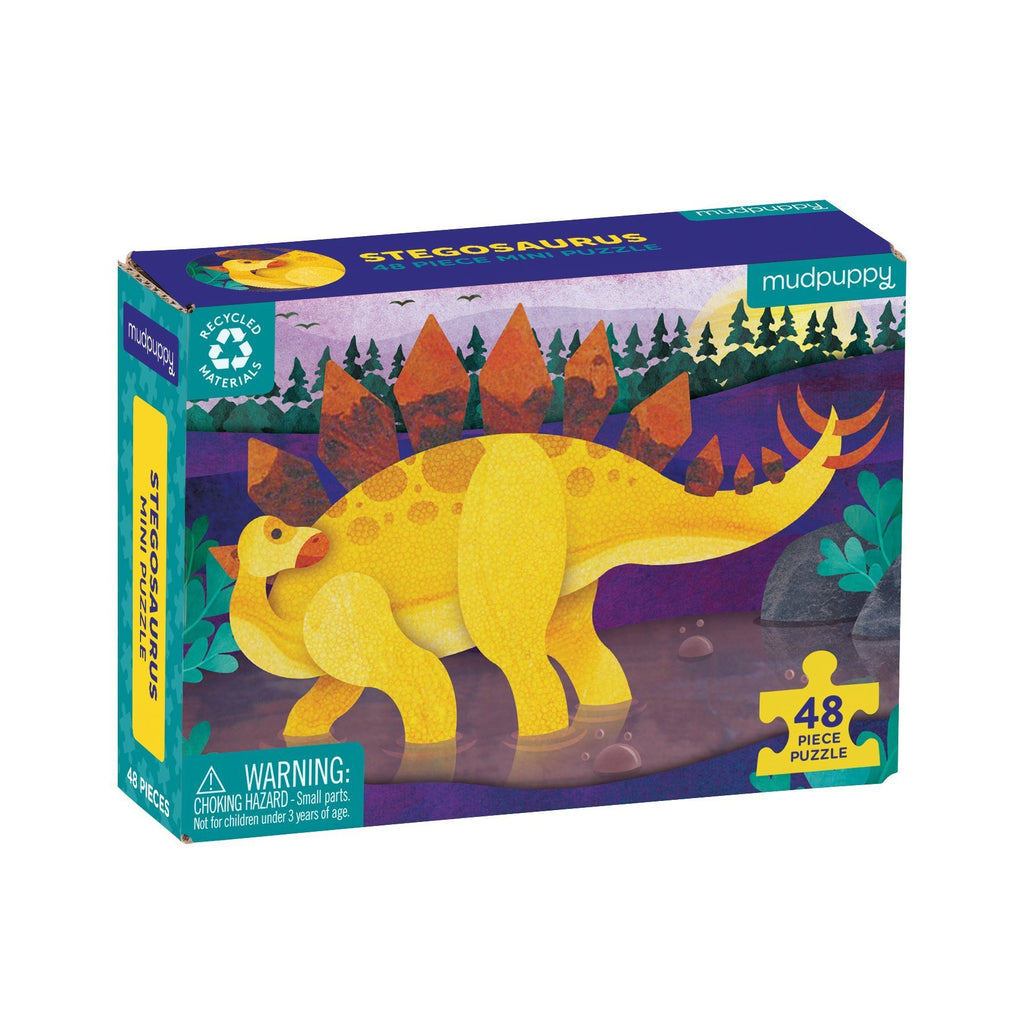 Stegosaurus - 48pc Mini Puzzle