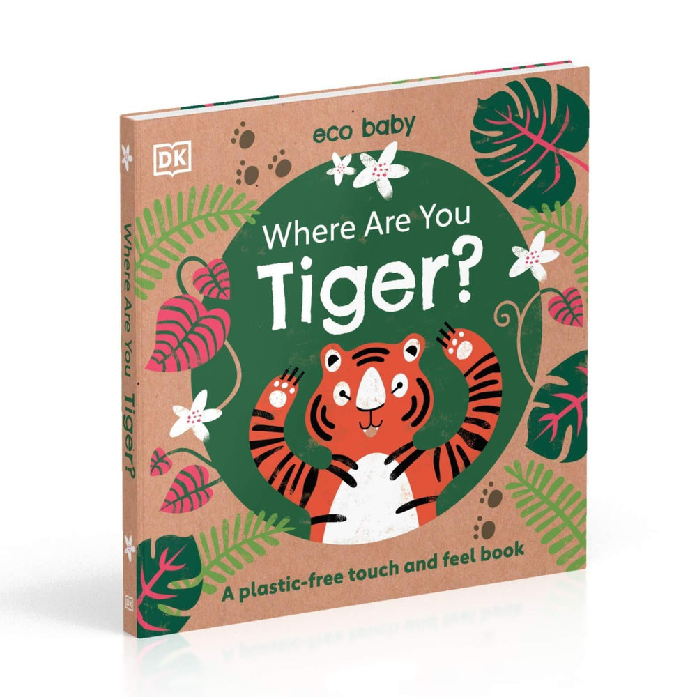 Where Are You Tiger? A Plastic-Free Touch & Feel Book