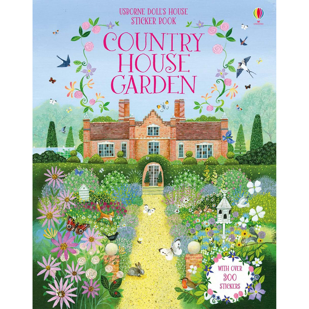 Usborne Country House Garden Sticker Book
