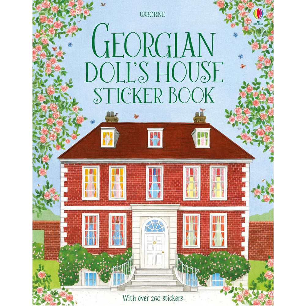 Usborne Georgian Dolls House Sticker Book