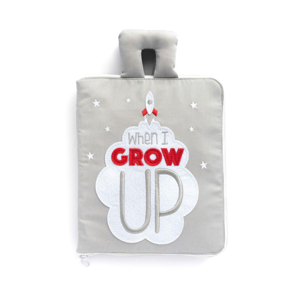 When I Grow Up - Fabric Activity Book