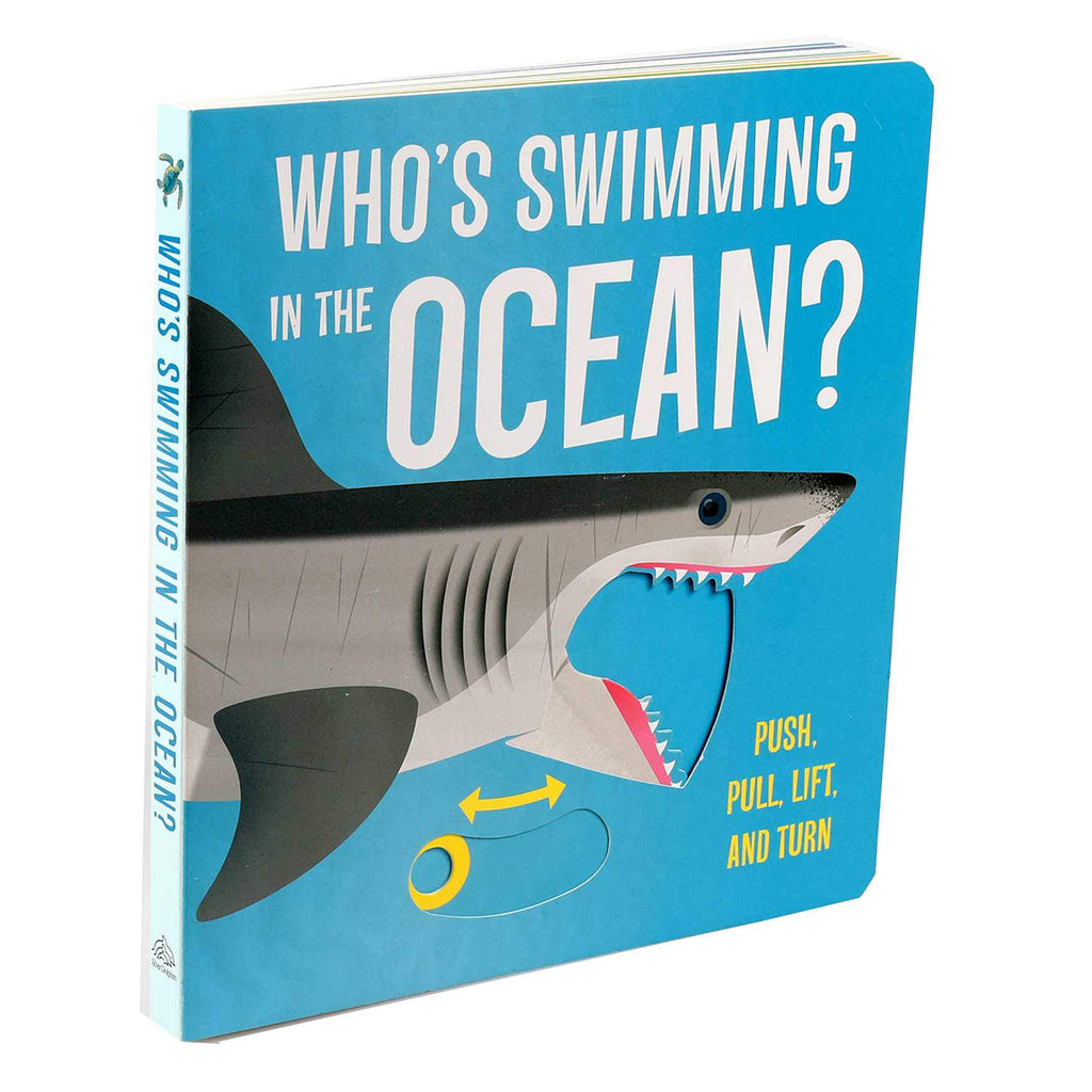 Who's Swimming in the Ocean? | Board Book