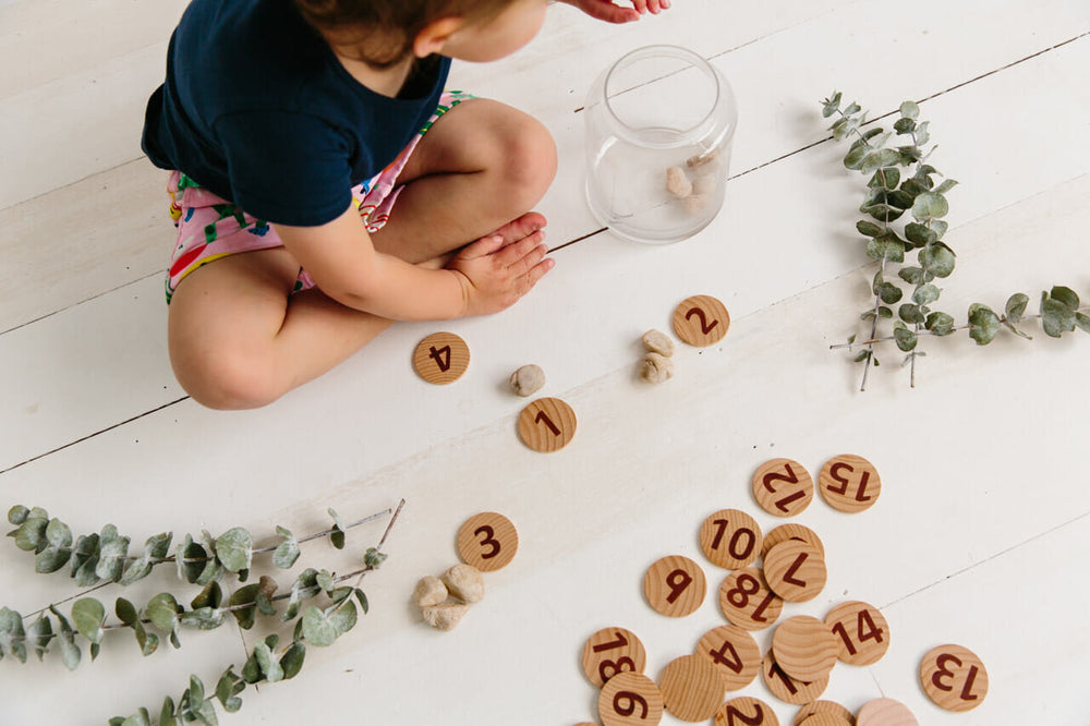 Tactile Wooden Numbers Set