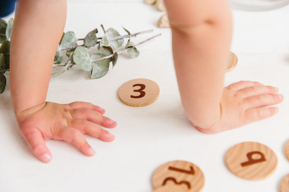 Tactile Wooden Numbers Set | Freckled Frog