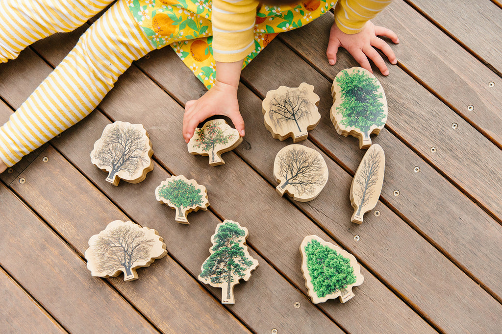Seasons Wooden Trees