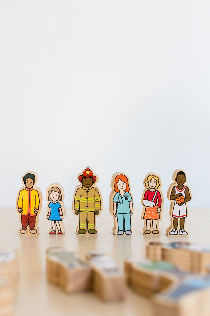 Wooden Village People | Freckled Frog