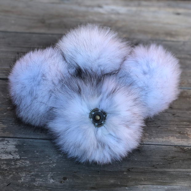 LIMITED EDITION Blue Frost Fox Pom