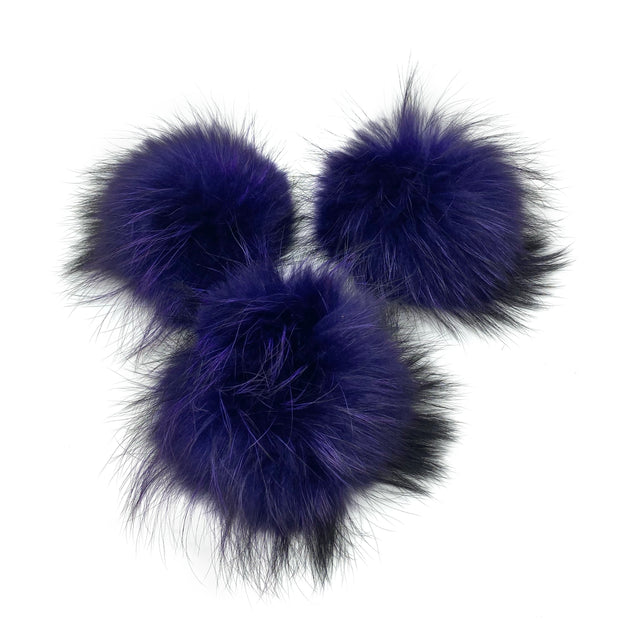 Coloured Poms- extra large