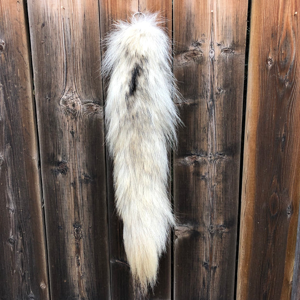 Genuine Fur Tail Keychains