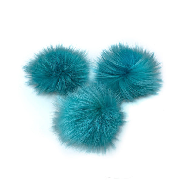 Coloured Poms- large