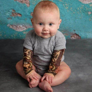 BABY TATTOO ONESIE