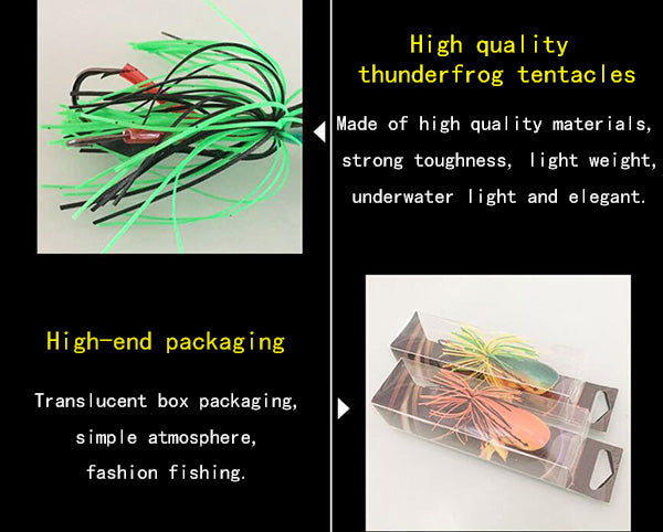 Jumping Frog Lures