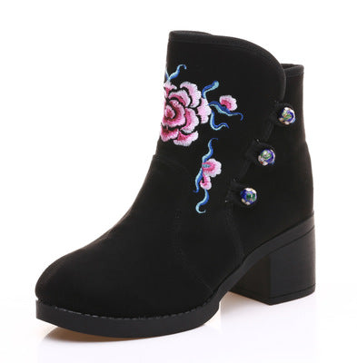 13618861b239 ... Fashion Embroidered boots  Fashion Embroidered boots