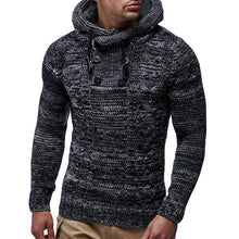 Load image into Gallery viewer, Hooded Wool Pullover