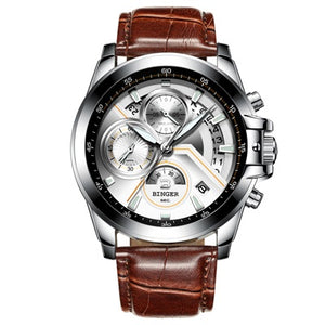 Chronograph Multi-function Leather & Link Watches