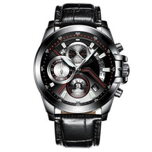 Load image into Gallery viewer, Chronograph Multi-function Leather & Link Watches