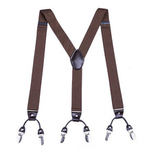 Load image into Gallery viewer, Leather Adjustable Braces