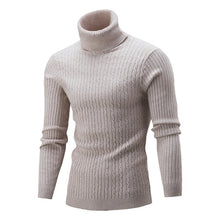 Load image into Gallery viewer, Slim Fit Turtleneck Pullover