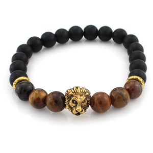 Lion Head Energy Bracelets