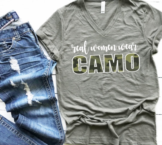 Real Women Wear Camo!