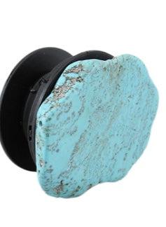 Turquoise Stone Phone Grip Holder/ Stand