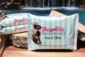 Puss and Pitts Premium Wipes
