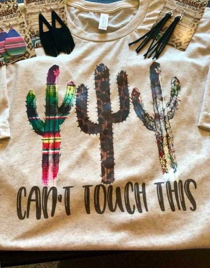 Can't Touch This Cactus Tee