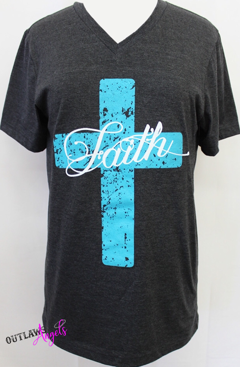 Gotta Have Faith V Neck