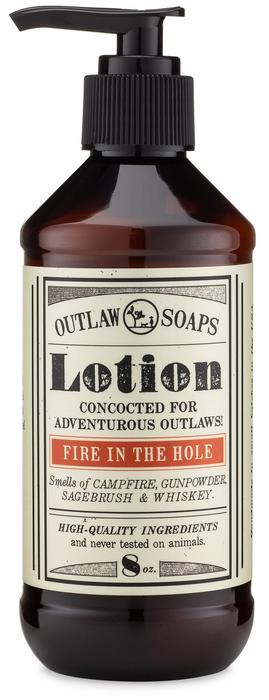 Fire in the Hole Natural Lotion: Explosively awesome campfire lotion