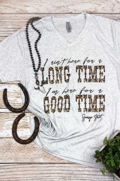Good Time Leopard Tee!