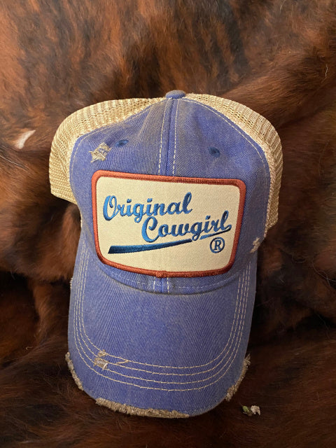 Original Cowgirl Distressed Cap