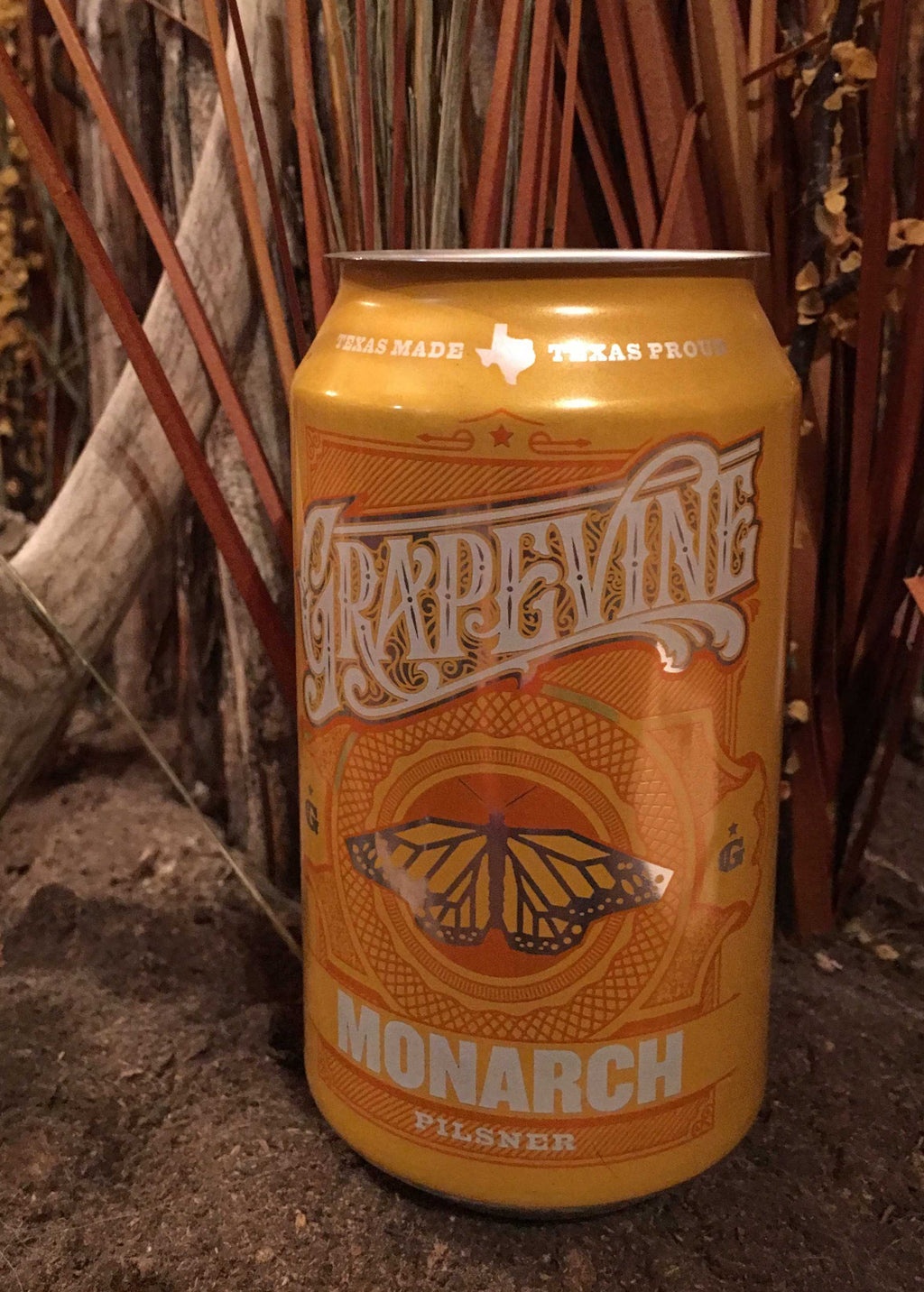 Pilsner Grapevine Beer Can Candle