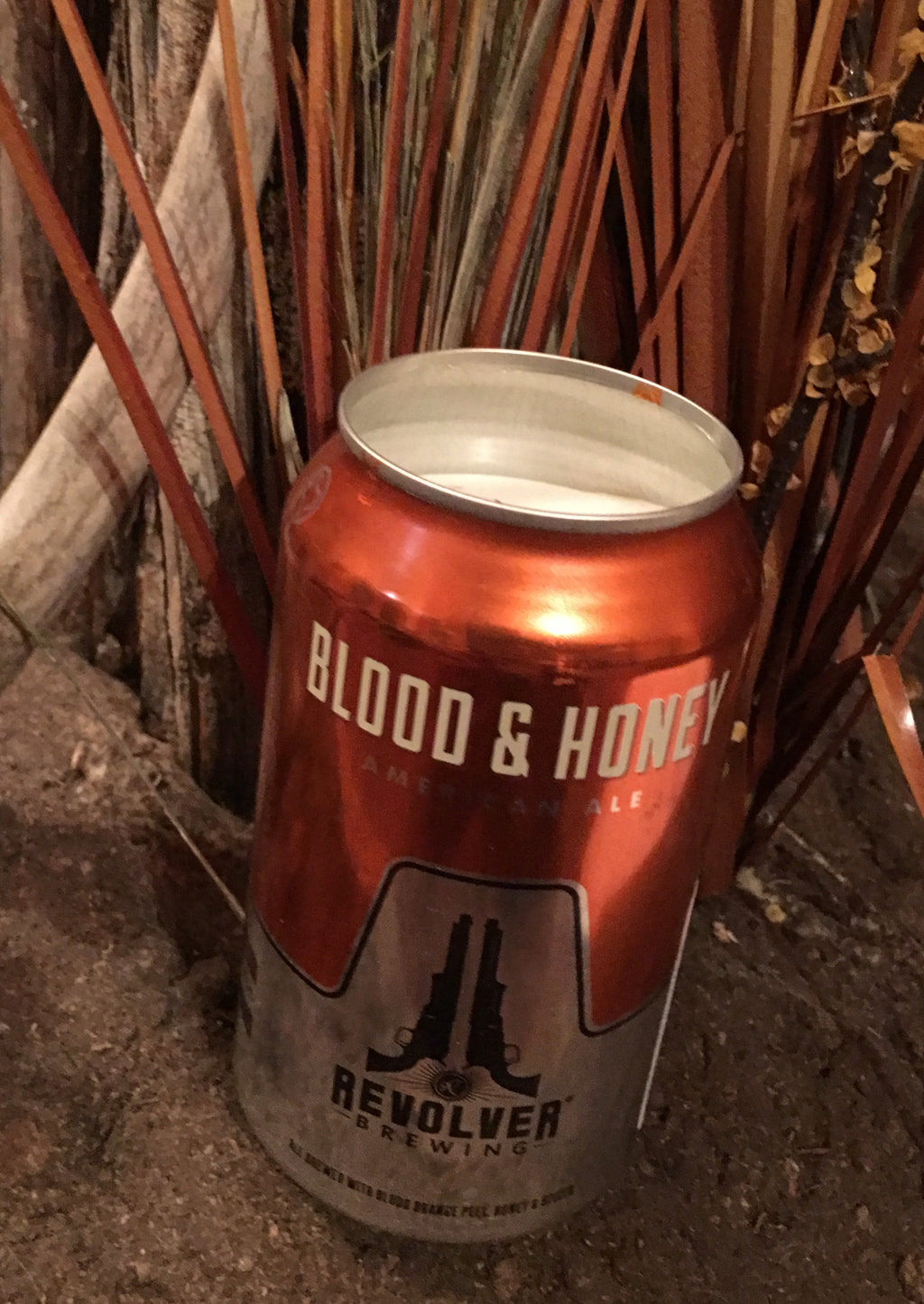 Revolver Brewing Co. Blood & Honey Beer Can Candle