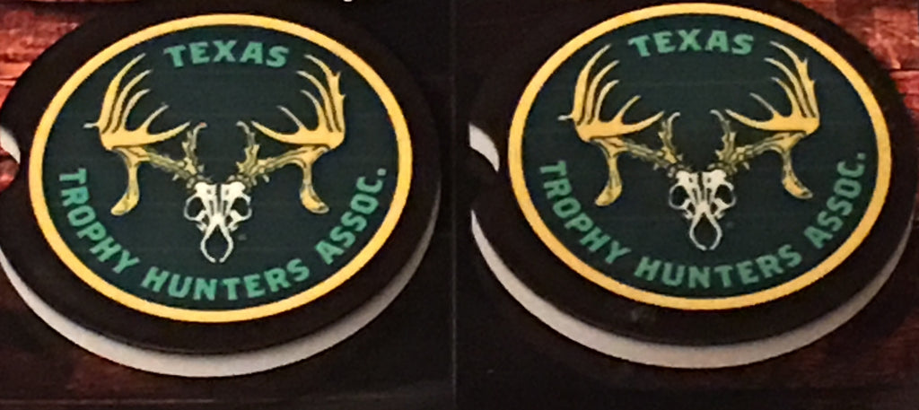 Texas Trophy Hunters Car Coasters