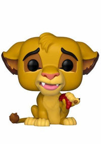 Figurine POP! Le Roi Lion - Gourmand Simba - Monkey Mood