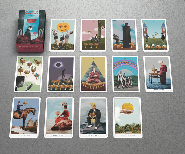 """The Hidden Message"" Tarot // PRE-ORDER // Free Shipping"