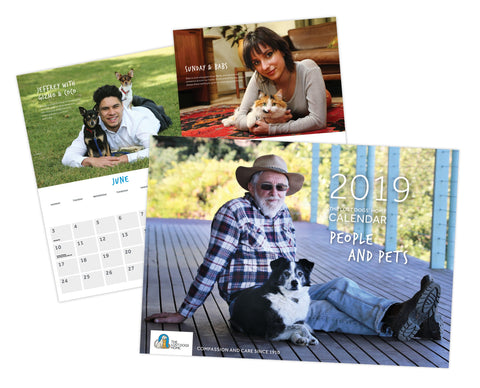 The Lost Dogs' Home 2019 Calendar