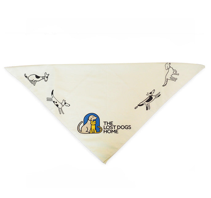 The Lost Dogs' Home Dog Bandana