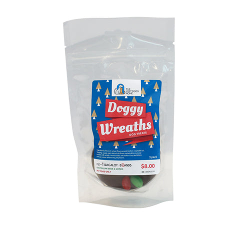 Doggy Wreath Dog Treats (3 Pack) - SOLD OUT