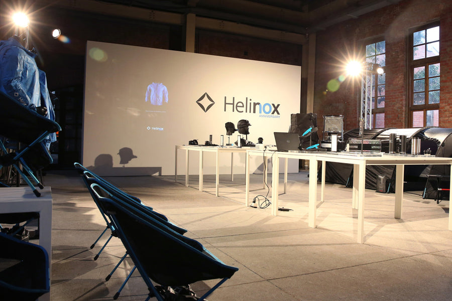 Helinox tenth anniversary pop up in Taipei Taiwan