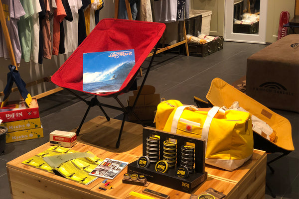 2018 Surfcode & Helinox Pop-up @ Hyundai Department Store in Seoul
