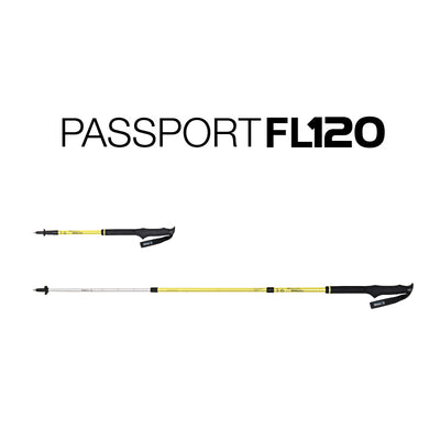 Helinox  Passport FL120 (Pair): Melon
