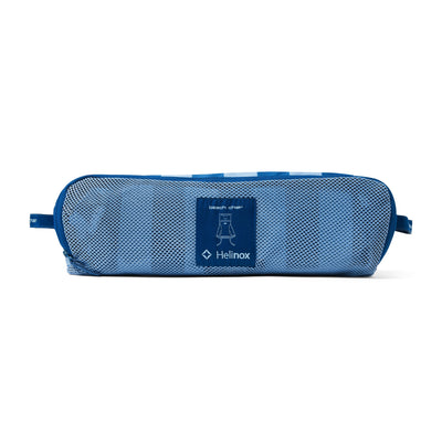 Helinox  Beach Chair Replacement Case: Blue Stripe