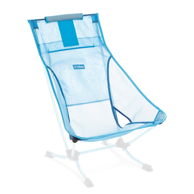 Helinox  Beach Chair Replacement Seat: Blue Mesh