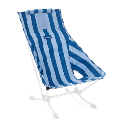 Helinox  Beach Chair Replacement Seat: Blue Stripe