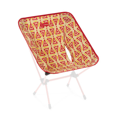 Helinox  Chair One Replacement Seat: Red Triangle