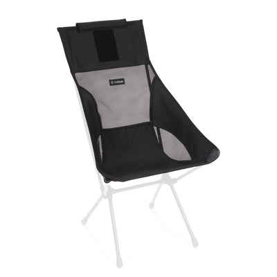 Helinox  Sunset Chair Replacement Seat: All Black