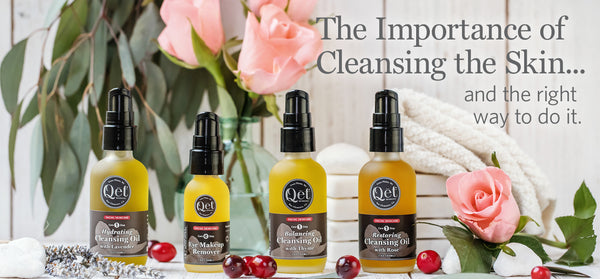 The Importance of Cleansing the Skin Daily ~ and the benefits of doing it right.