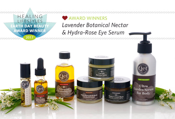 Qēt Botanicals two nationally award-winning products